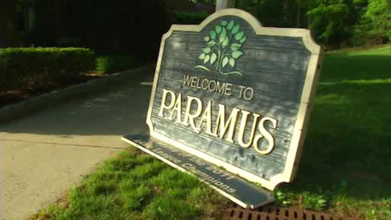 Stolen 'Welcome to Paramus' sign found!