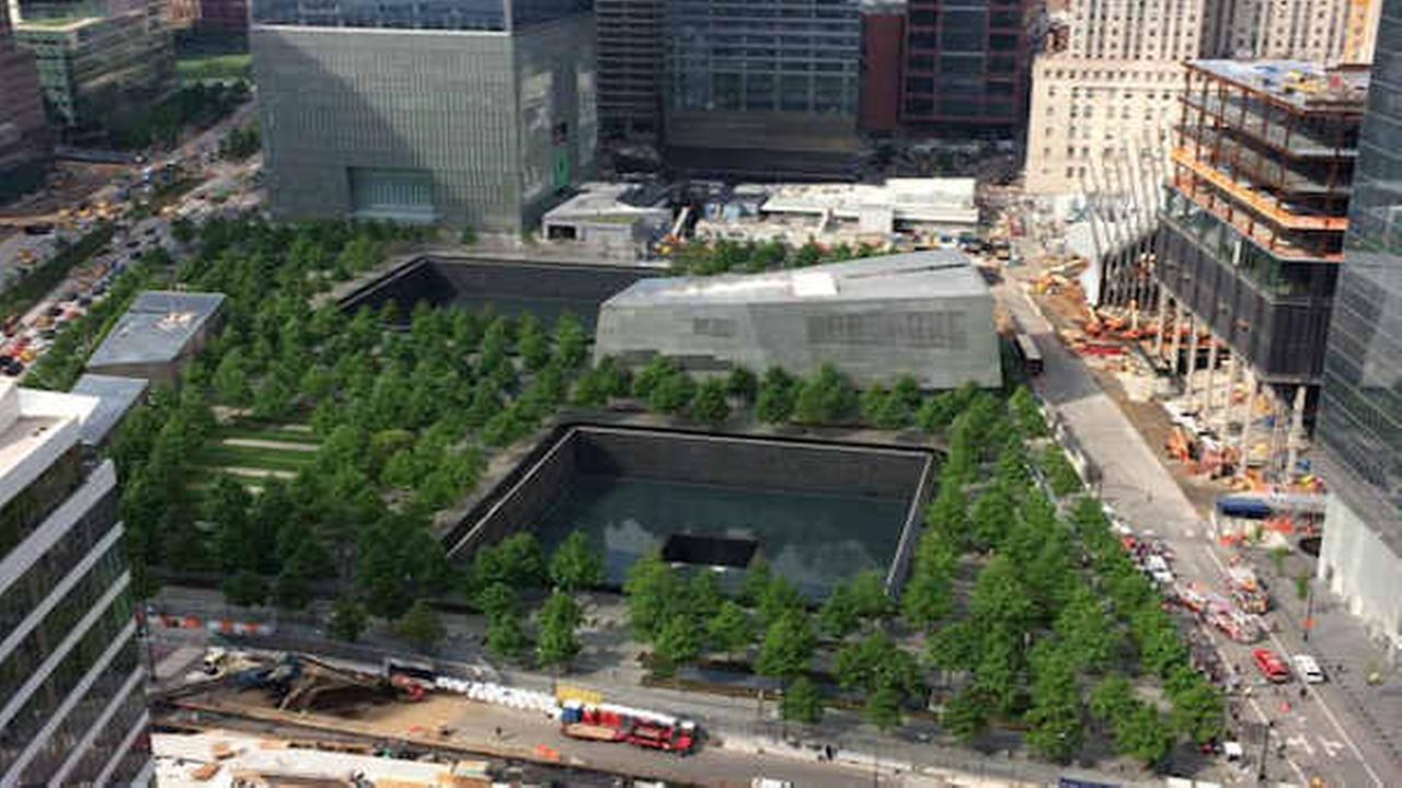Police clear World Trade Center Memorial plaza after visitors complain about noxious fumes