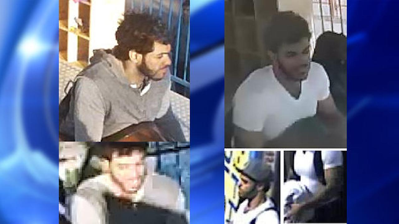 Suspect wanted for stealing women's purses inside Luna Park