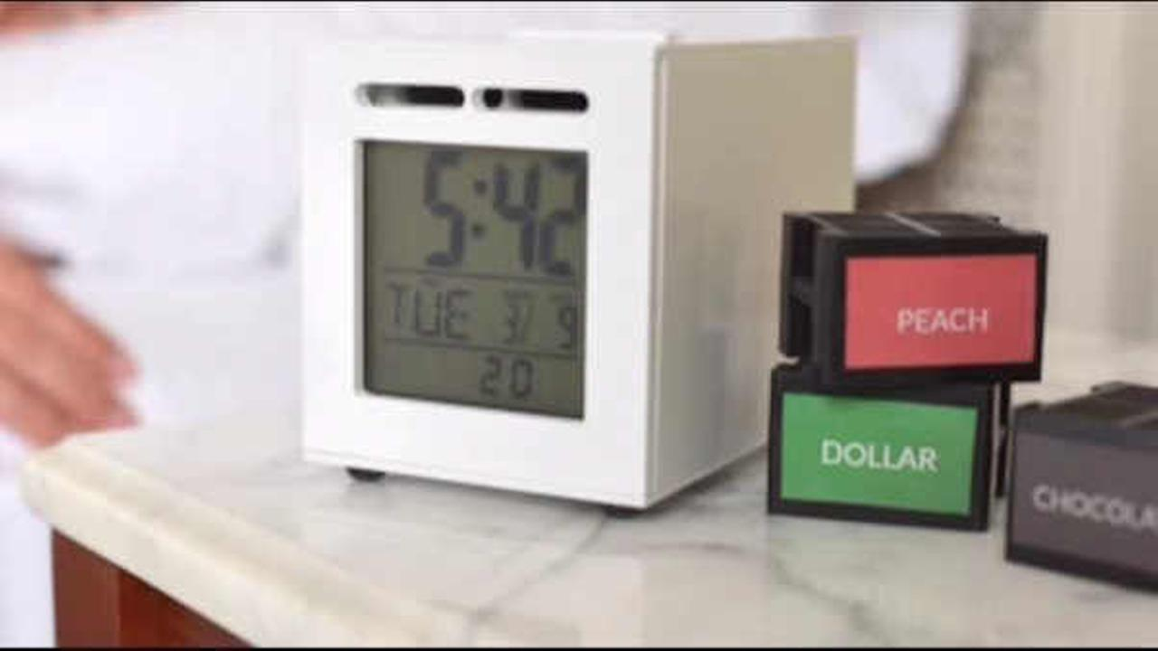 New alarm clock wakes you up with pleasant aromas