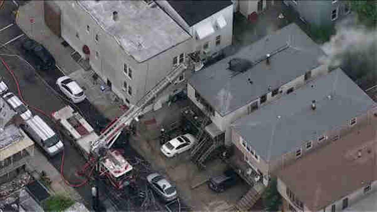 Fire in a Bayonne home kills 4 dogs