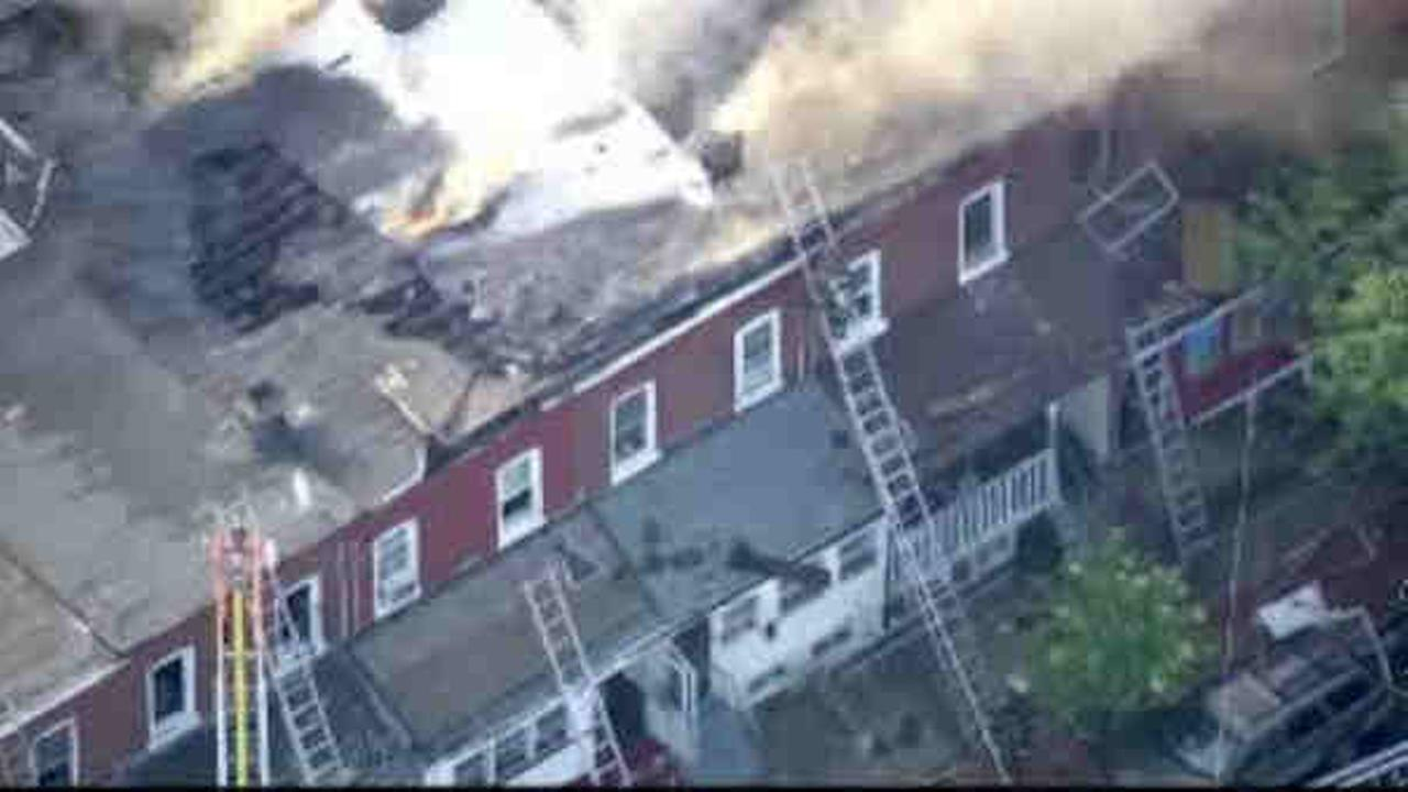 Massive fire damages at least 15 homes in Hamilton
