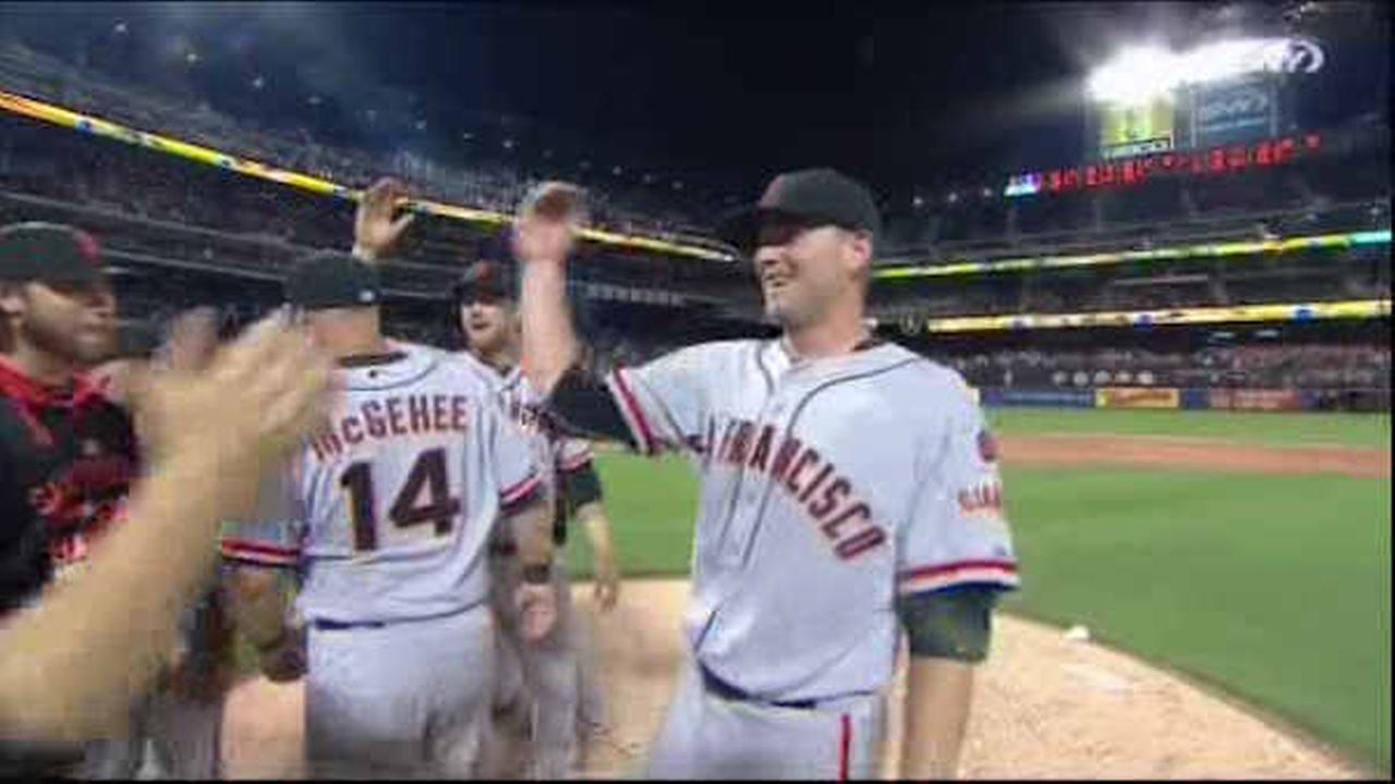 Giants Chris Heston pitches no-hitter against the Mets