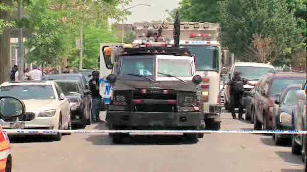 Bushwick man in custody after shooting, standoff across the street from school