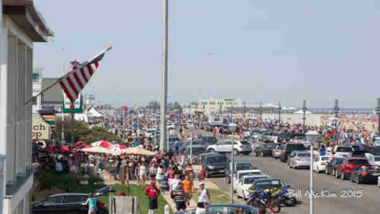 Town of Belmar closes temporarily after becoming too crowded
