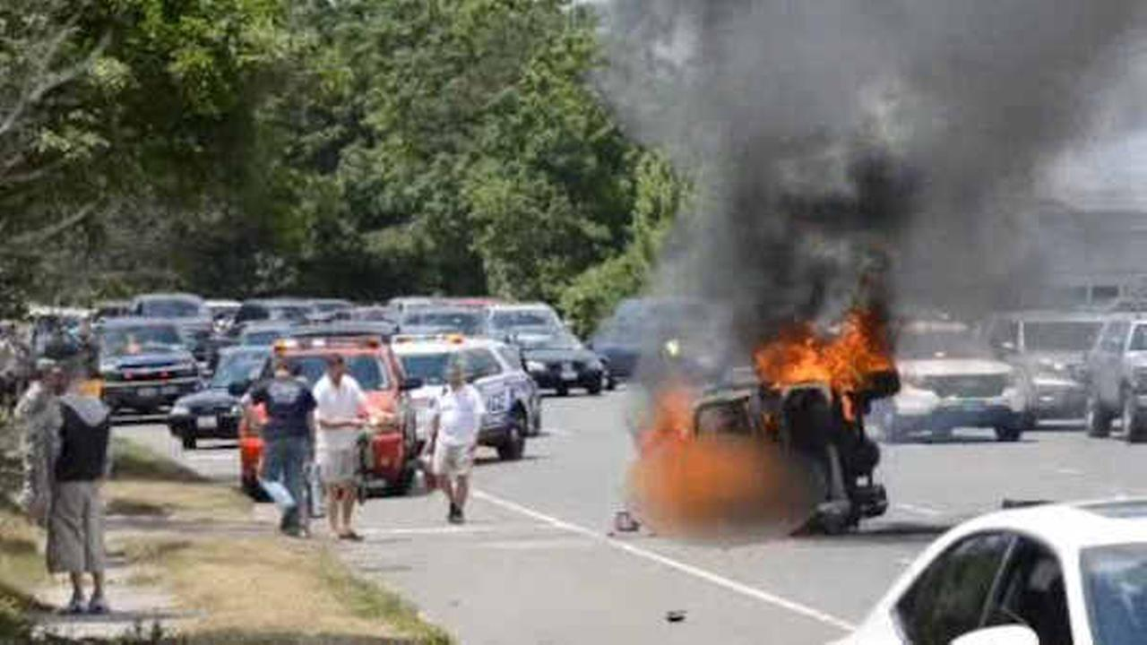 Man killed in fiery Long Island crash was retired NYPD officer
