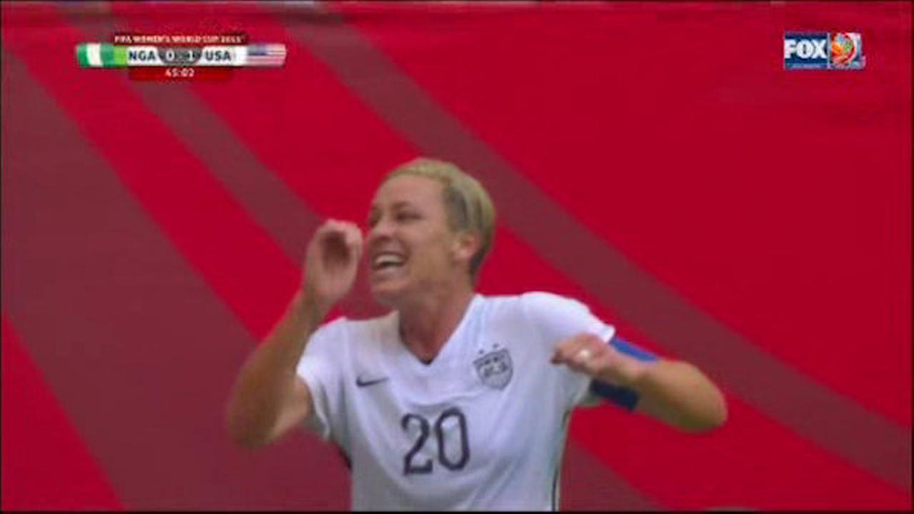 US beats Nigeria 1-0 thanks to Wambach's goal