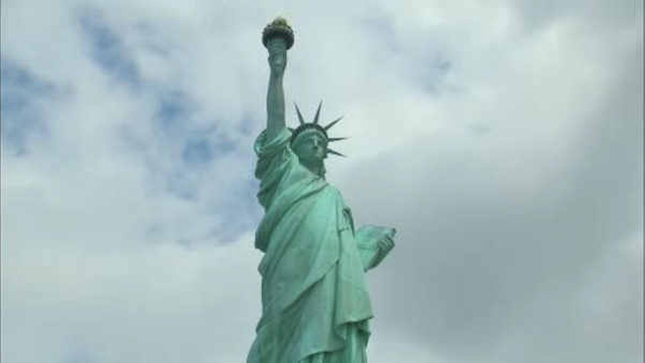Statue of Liberty arrived in New York Harbor 130 years ago Wednesday