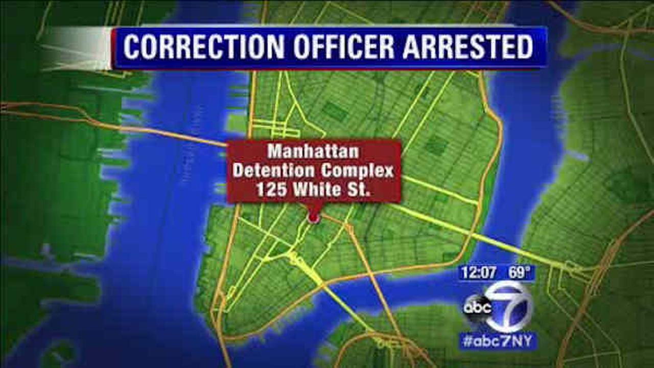 Manhattan Detention Center officer accused of smuggling contraband; Sweep finds inmate with 64 sheets tied together