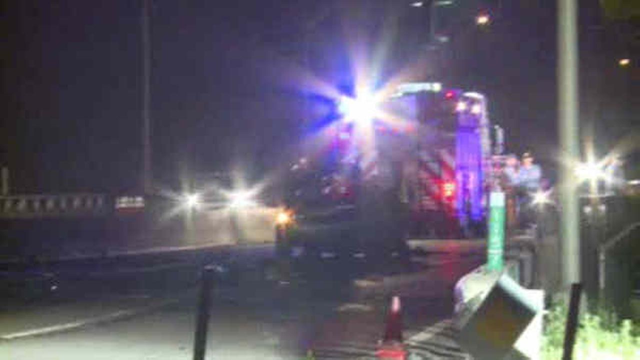 New Jersey trooper dead in off-duty wreck in Ridgefield, New Jersey