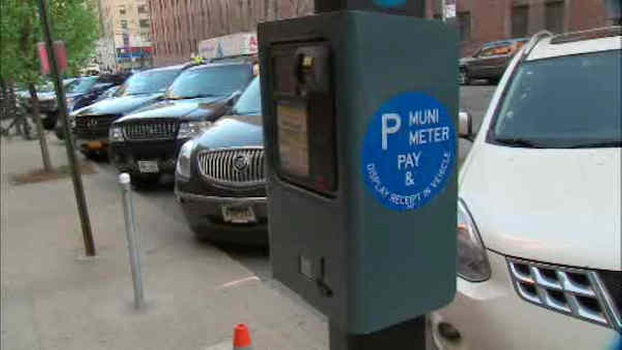 Brooklyn muni-meters now allow drivers to 'pay ahead' when they park