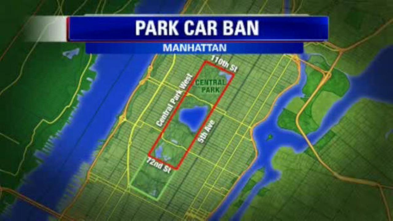 Central Park car ban above 72nd Street goes into effect