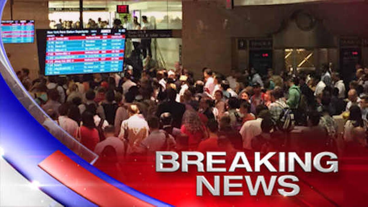 Westbound Amtrak/NJ Transit service resumes after trains held at Penn Station