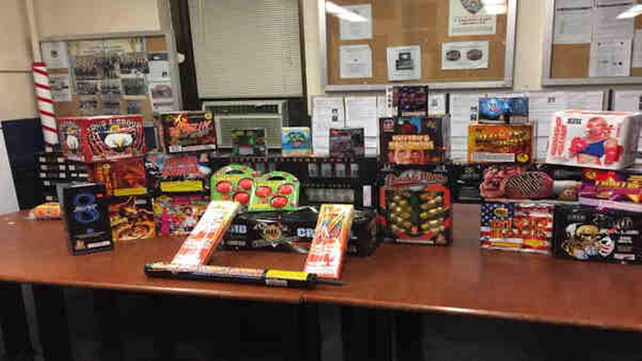 Several illegal fireworks seized, arrests made in Middle Village