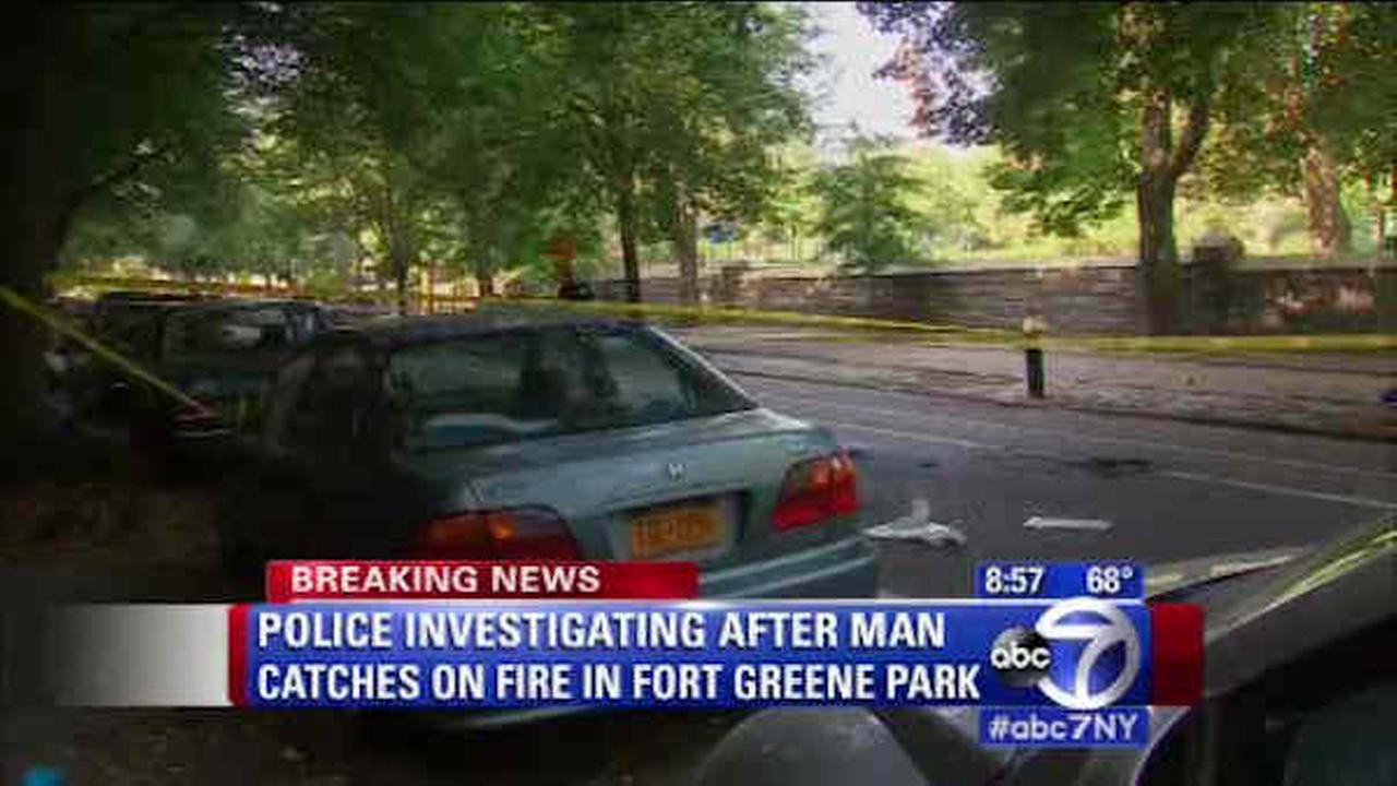 Man burned over half his body at Fort Greene Park in Brooklyn