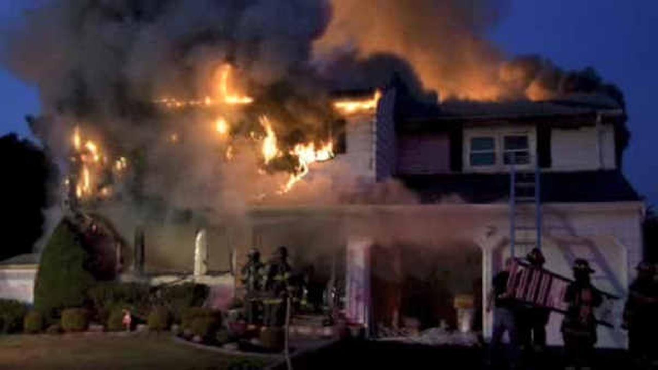 Elderly woman killed in early morning house fire in Suffolk County
