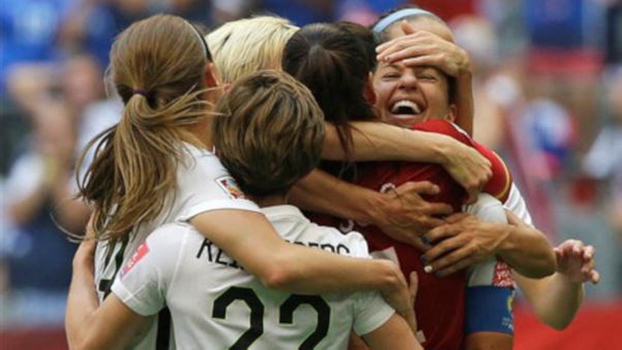 U.S. beats Japan 5-2 to win Women's World Cup