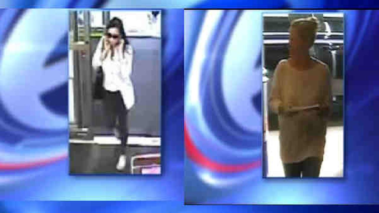 Police: Women wanted for stealing credit cards on Long Island, buying groceries in Hamptons