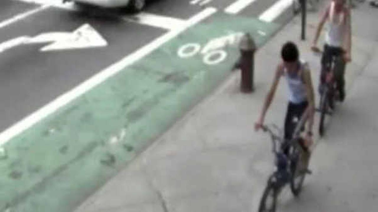 Police in Brooklyn looking for teenage bicycle-riding gropers