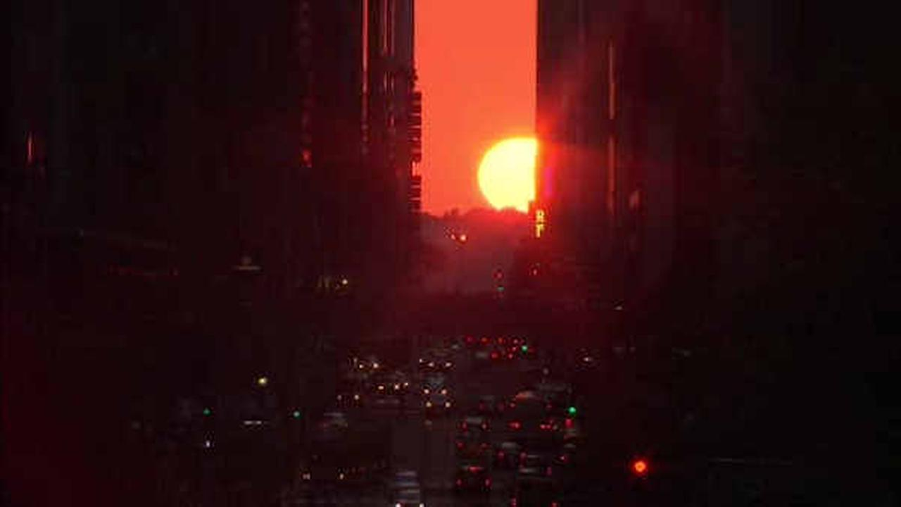 "Last chance to see ""Manhattanhenge"" in 2015"