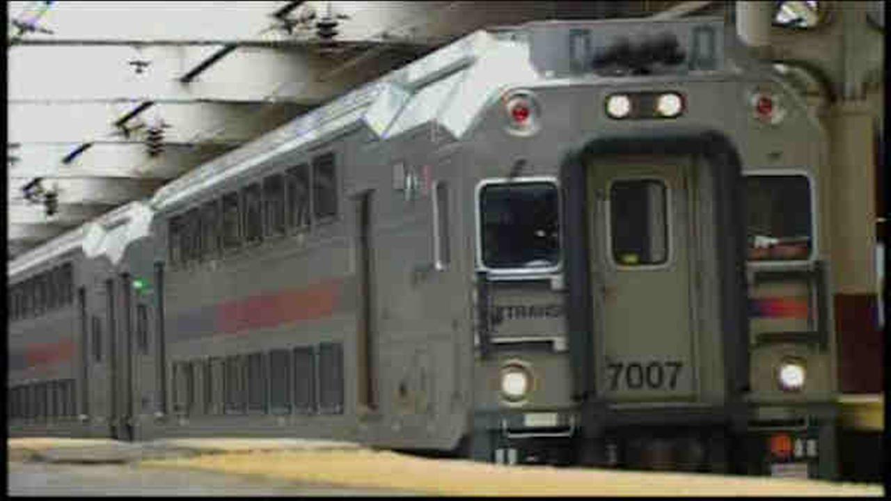 NJ Transit rail service delayed after NY-bound train strikes man