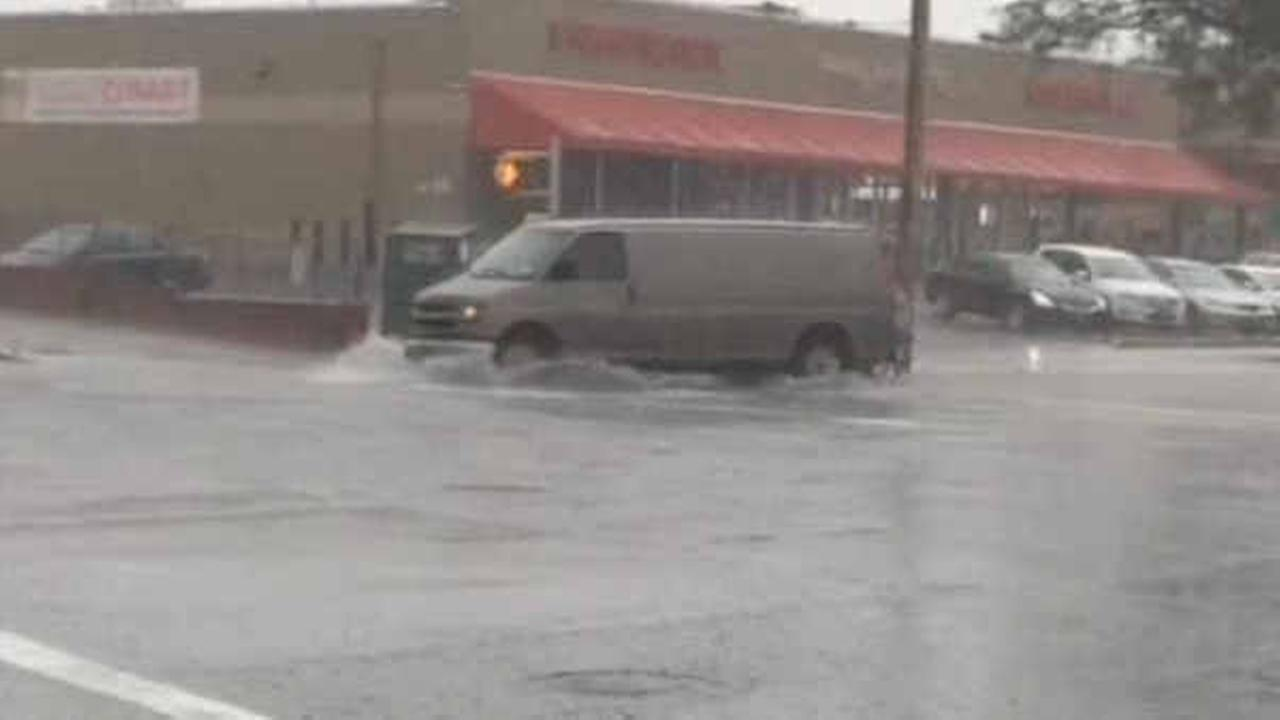 Heavy downpours lead to numerous accidents in Tri-State area