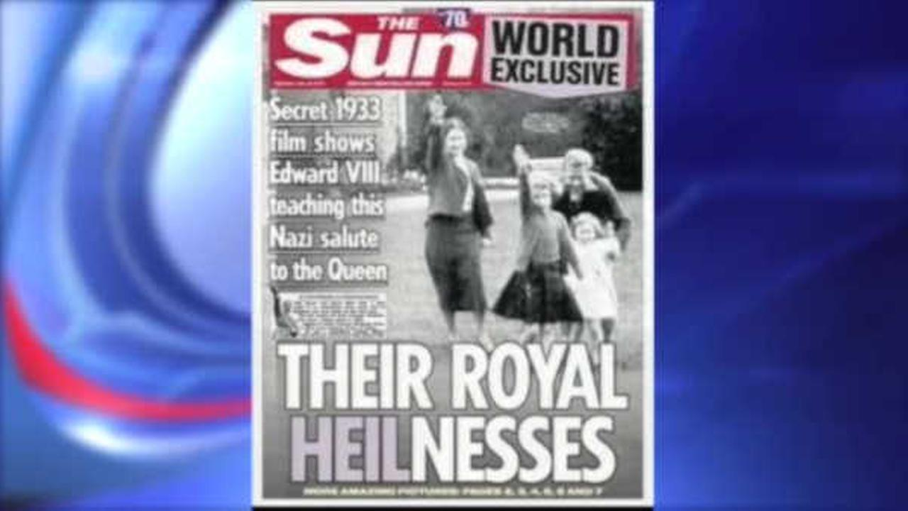 British tabloid publishes footage of young Queen Elizabeth giving Nazi salute