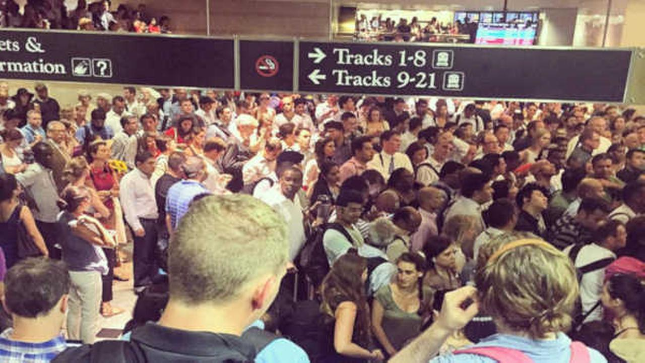 Overhead wires cause extensive delays on NJ Transit