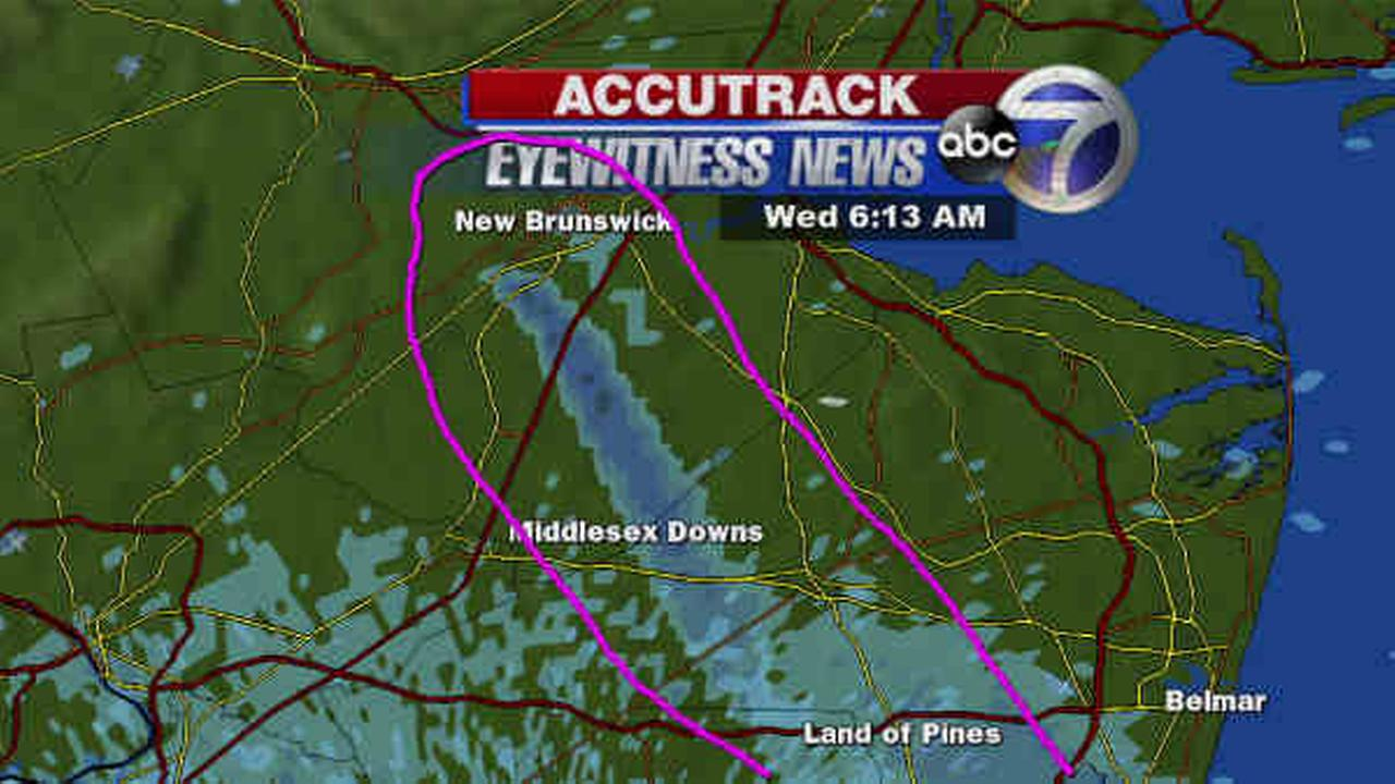 Doppler radar, viewer photos capture smoke plume from New Jersey warehouse fire