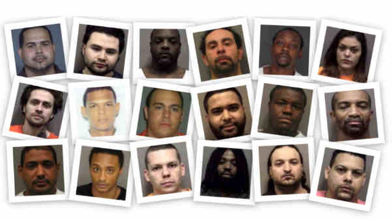 MUGSHOTS: 18 arrested in major drug sweep across Rockland County