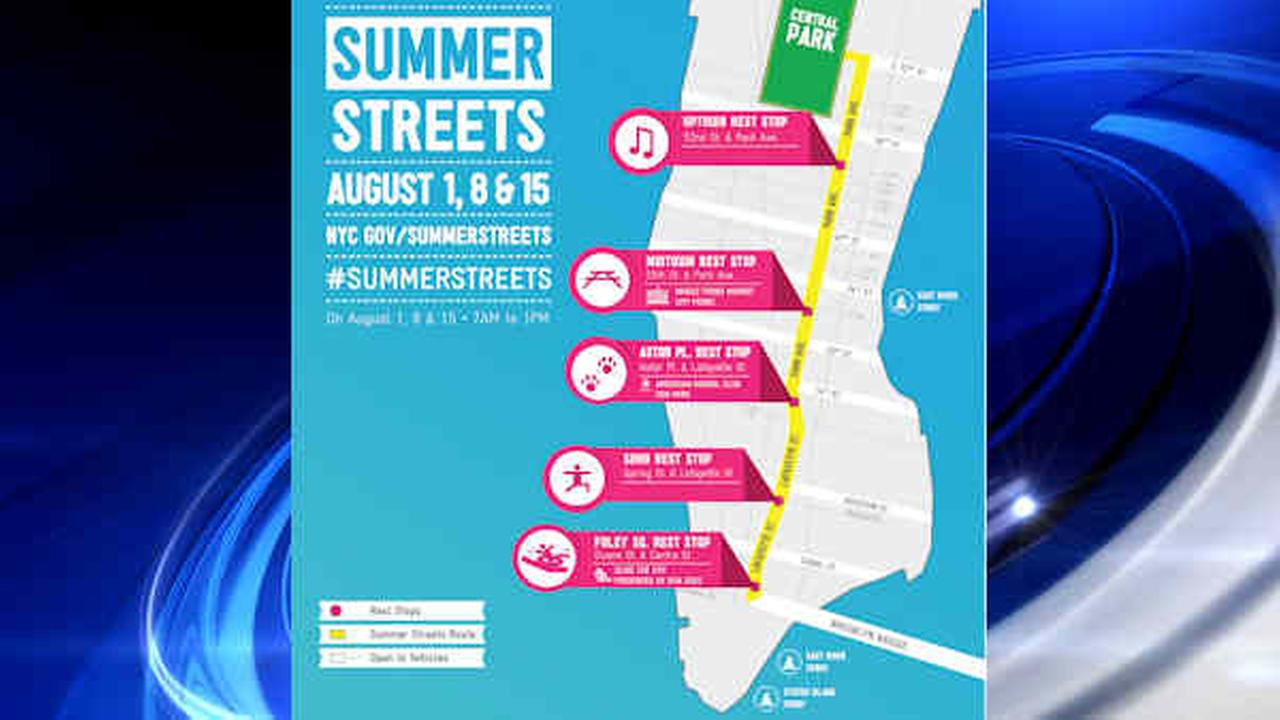 New York City's Summer Streets starts today