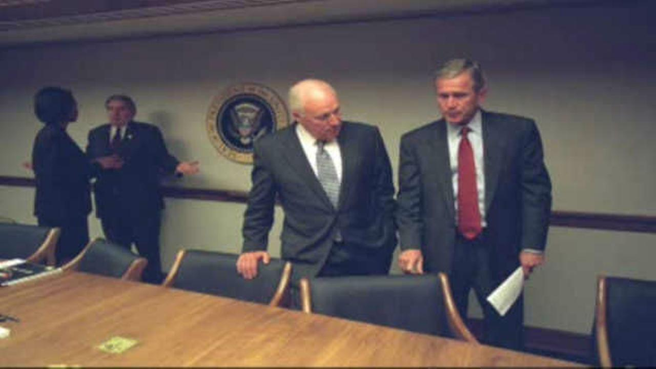 PHOTOS: Newly released images of White House reacting to 9/11 attacks