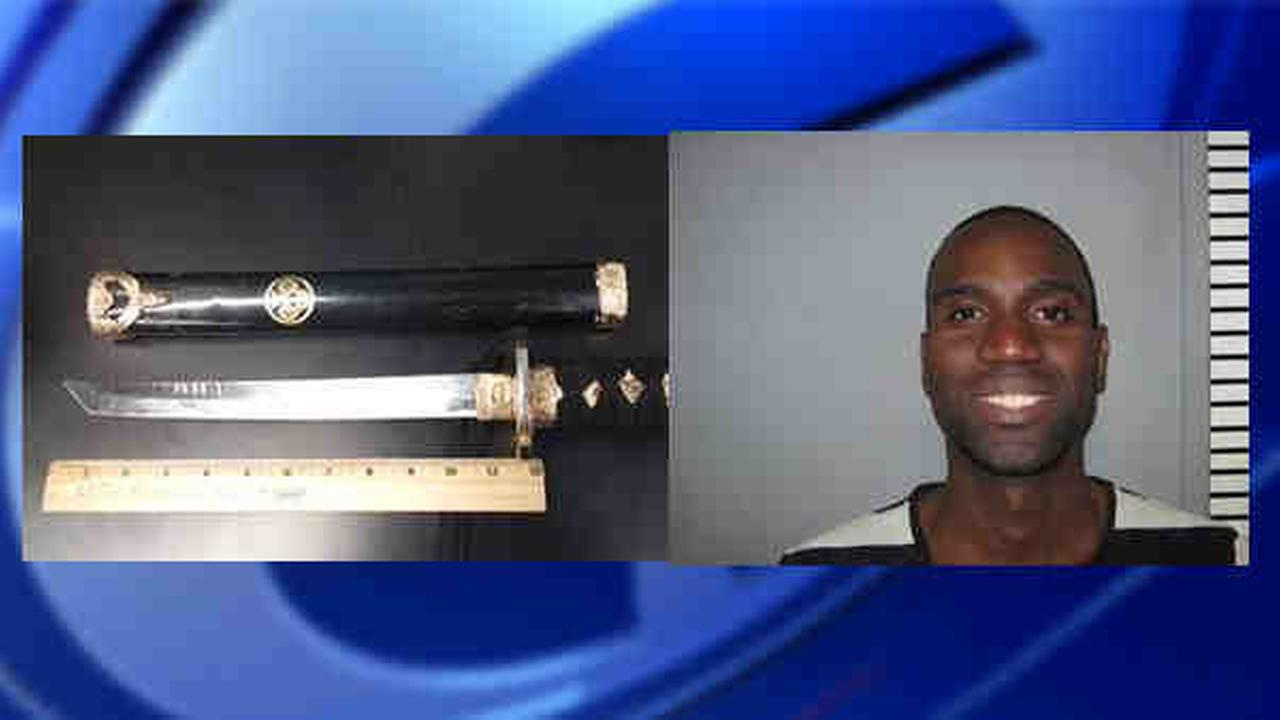 Police: Man used samurai sword in tunnel road rage incident