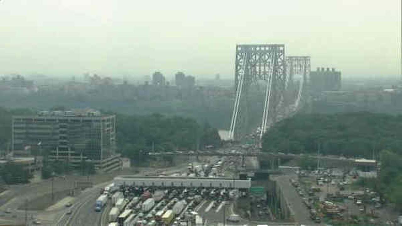 George Washington Bridge reopens after tractor trailer jackknifes on inbound upper level