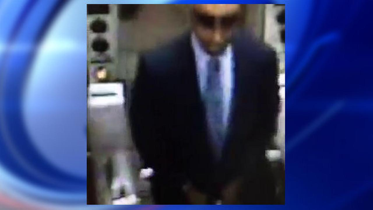 New York City police seek well-dressed suspect in subway station pickpocketing