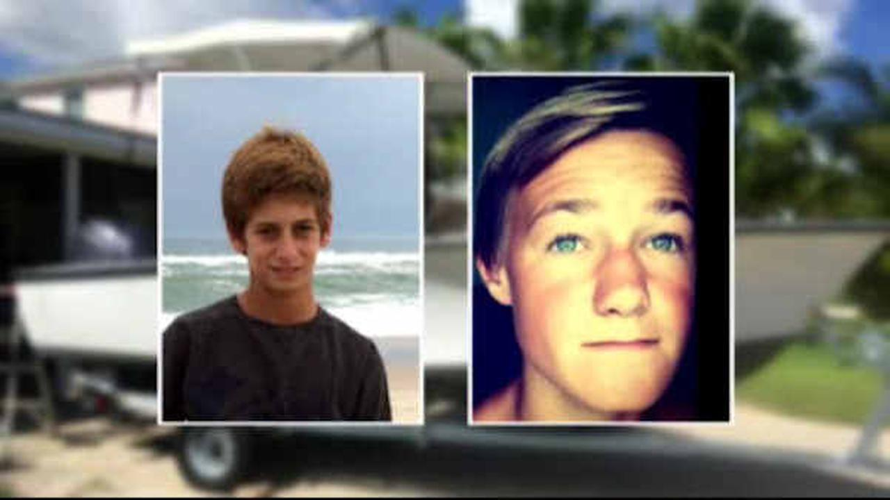 Coast Guard suspends search for two missing teenage fishermen