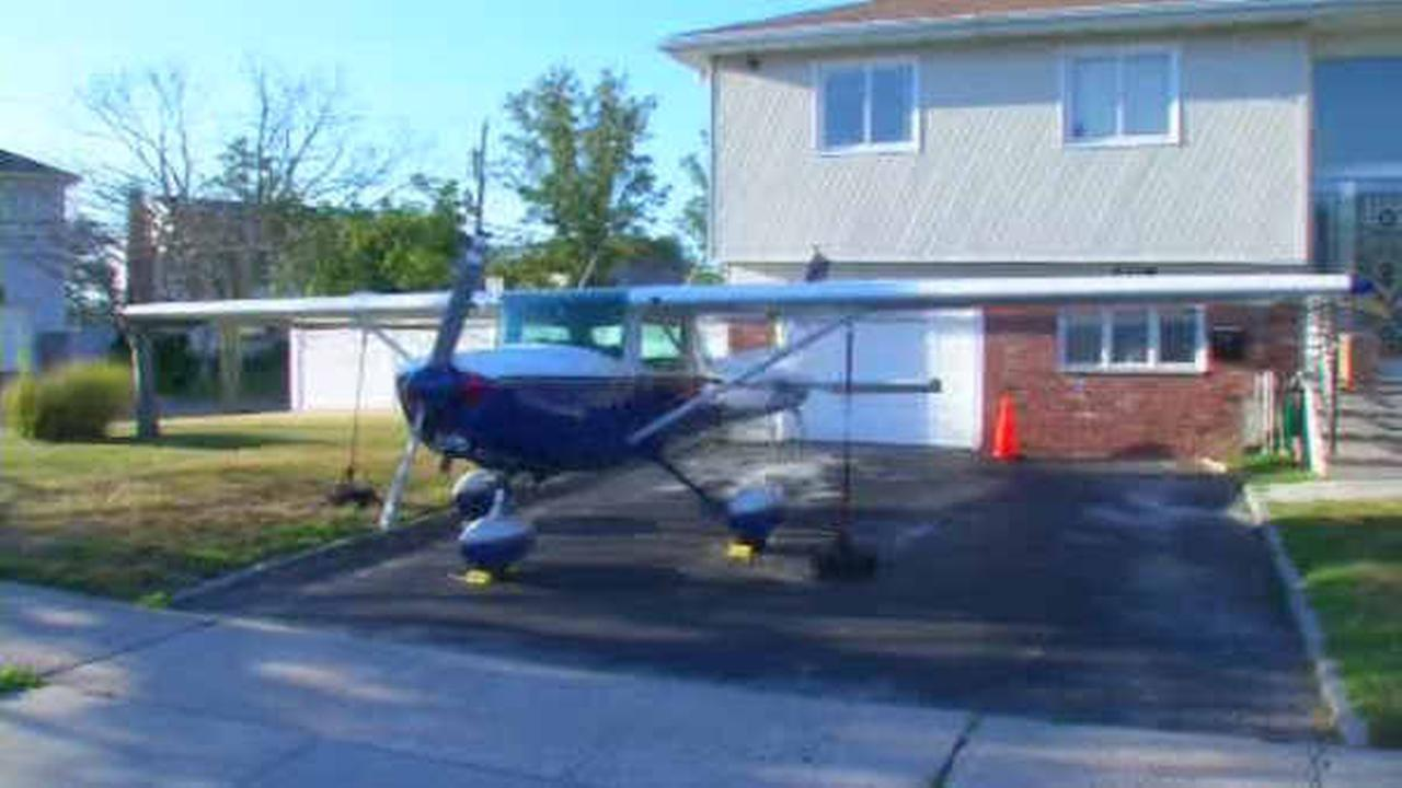 Long Island pilot runs into turbulence in neighborhood for parking plane in driveway