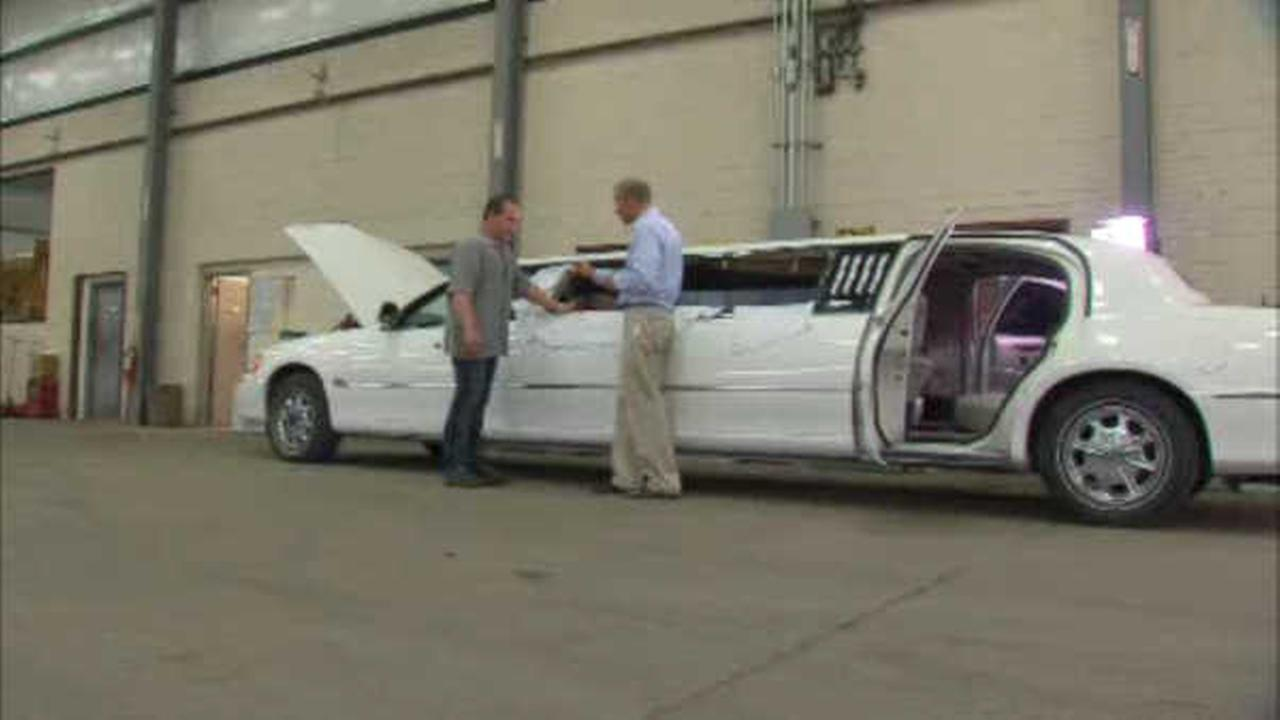 Senator Charles Schumer calls for upgrades in stretch limo standards