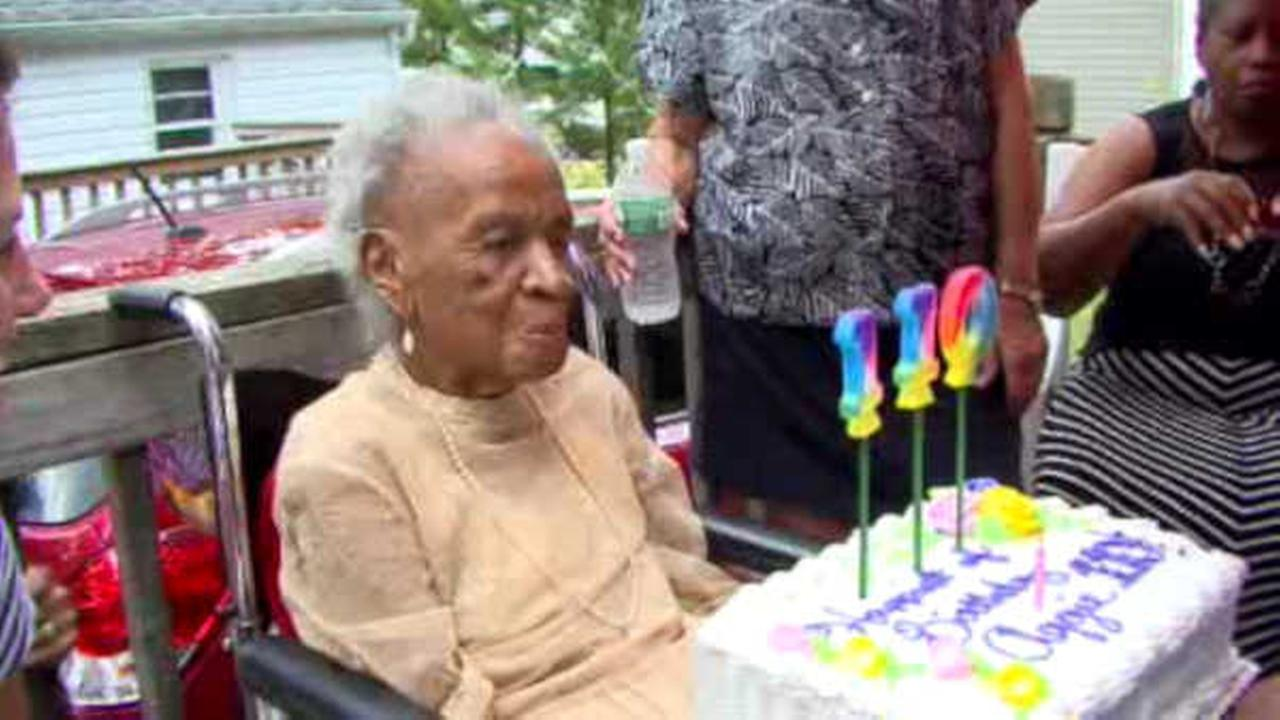Woman from New Jersey celebrates 110th birthday, says key to longevity is beer