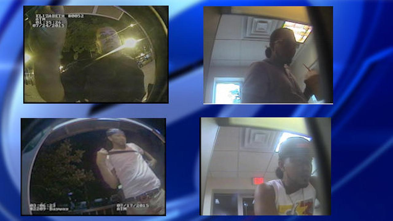Police: security video shows suspects using stolen checks and card at ATMs in Linden, Elizabeth