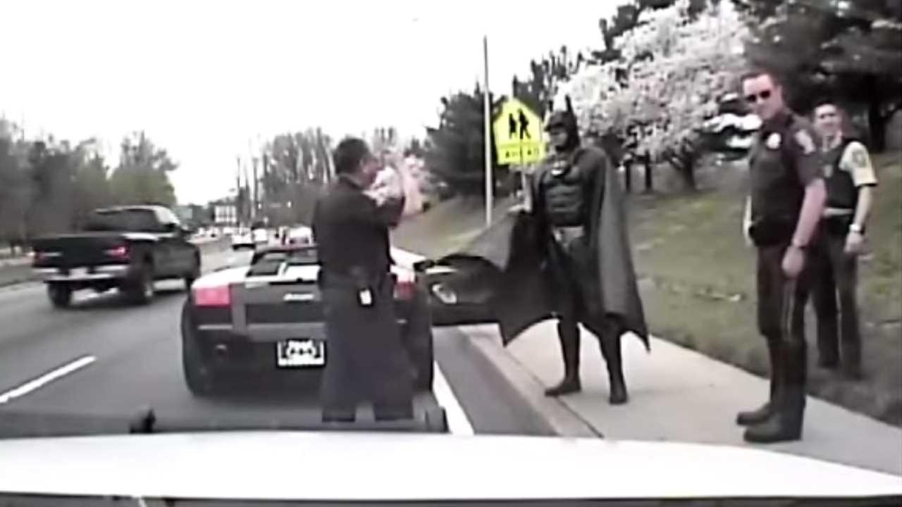 Man who dressed as Batman for hospitalized children dies in crash