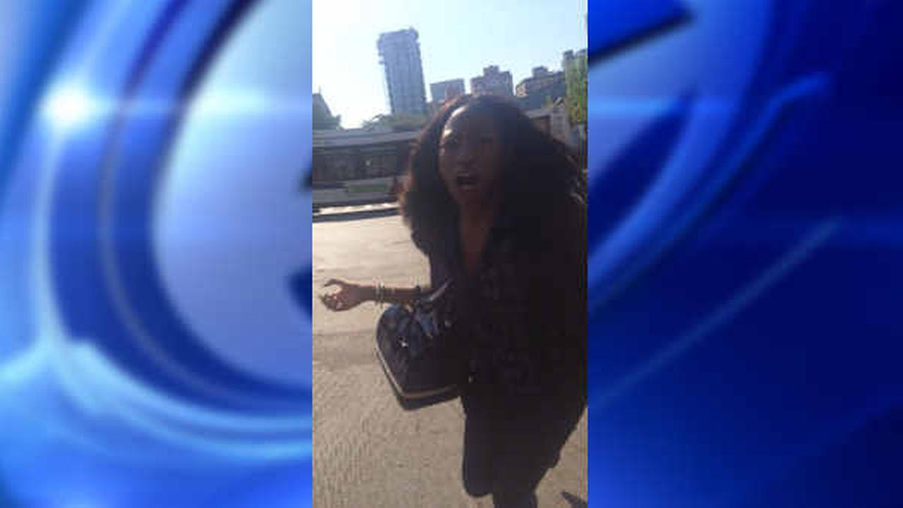 Police released a photo of the woman who allegedly attacked another woman on the subway.