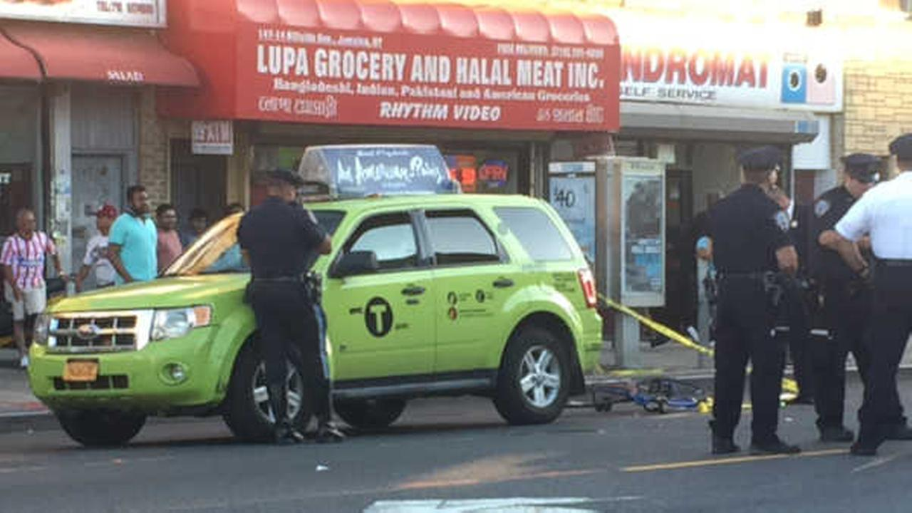 Teenage bicyclist in critical condition after being struck by cab