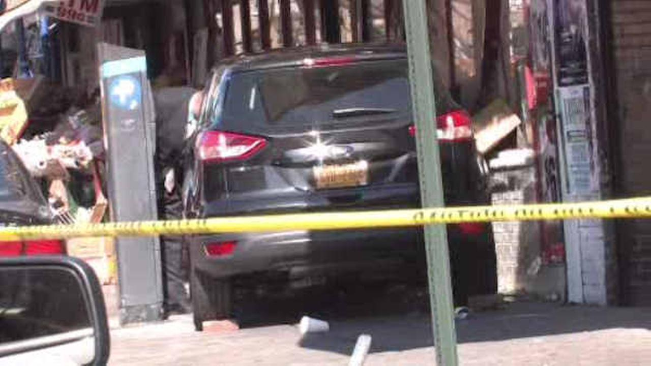 Driver charged with DWI after crashing into fruit stand in the Bronx