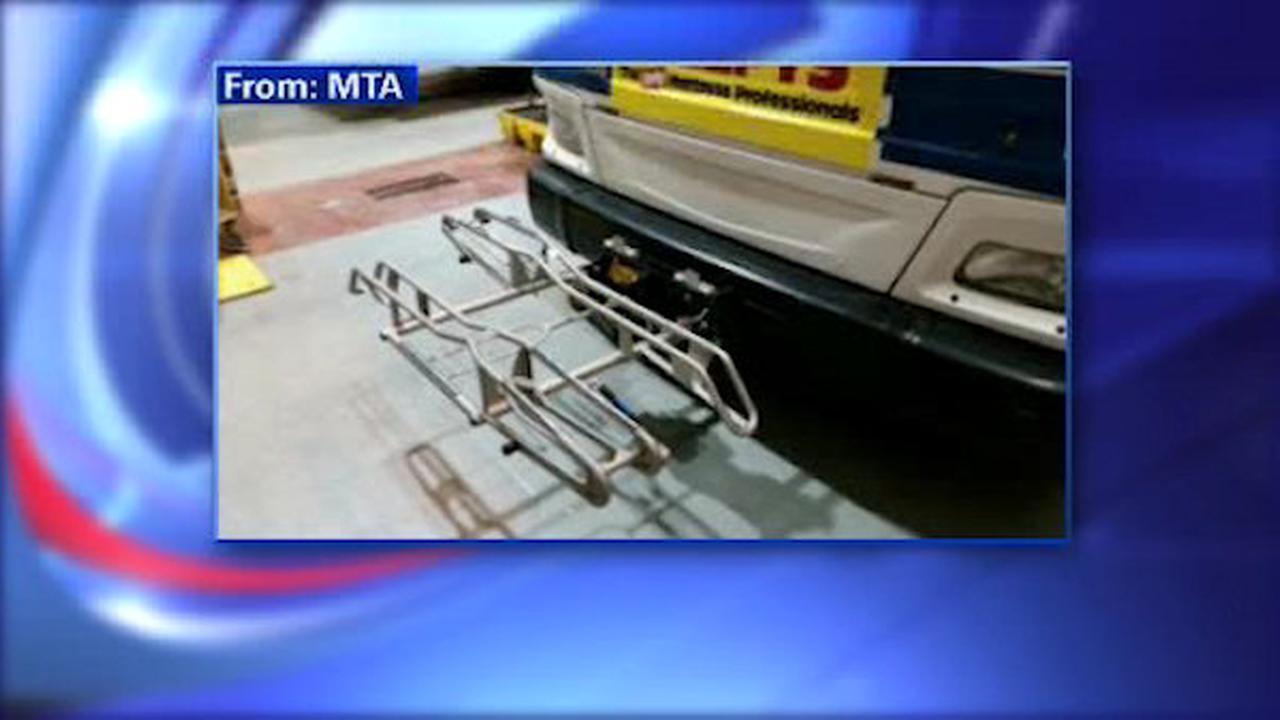 MTA adding bicycle racks on 2 bus routes
