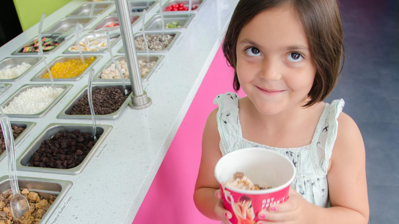 New York City's unofficial 'frozen yogurt district' is located in Astoria, Queens