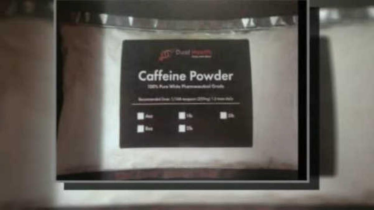 FDA considers powdered caffeine dangerous, issues warning letters