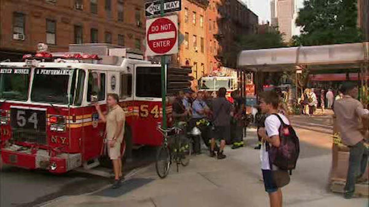 Woman dies after high-rise apartment catches fire in Hell's Kitchen