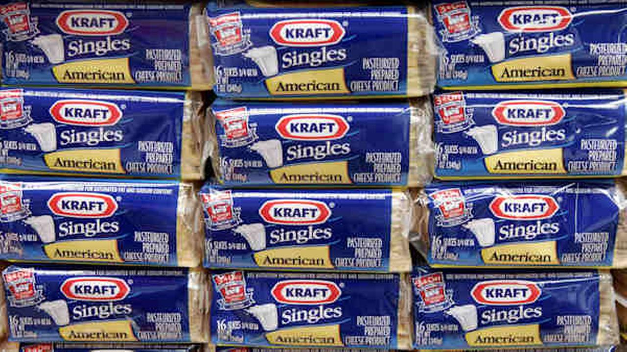 Kraft expanding recall of its cheese singles due to potential choking hazard