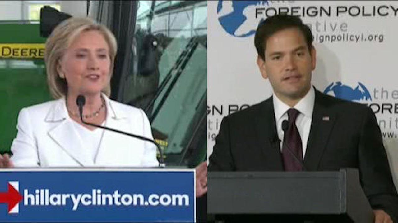 Clinton, Rubio court Puerto Rico voters as economic crisis looms